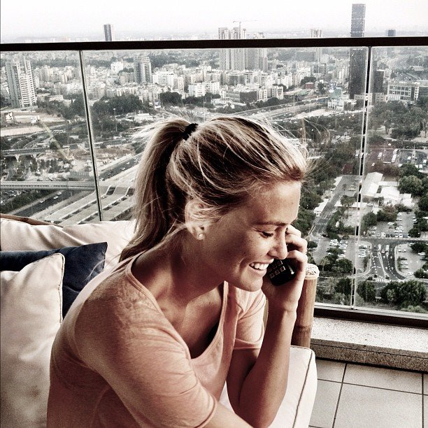 Bar Refaeli concluded her Summer of fun by returning home to Tel Aviv in August.  Source: Instagram user barrefaeli