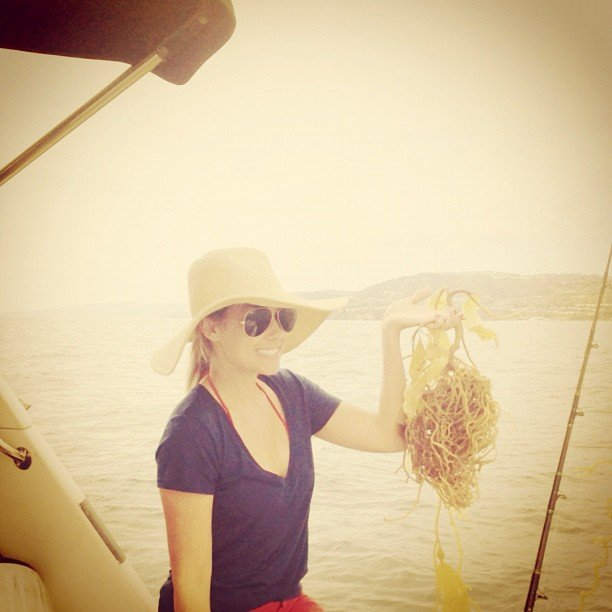 Lauren Conrad took a fishing trip but didn't catch much. Source: Instagram user laurenconrad