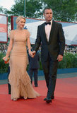 Naomi Watts and Liev Schreiber attended the Venice Film Festival.