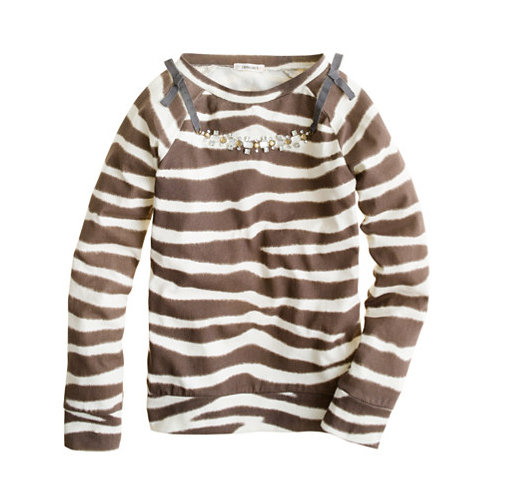 Crewcuts Necklace Tee in Zebra Stripe ($50)
