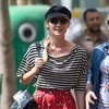 Diane Kruger in Stripes Shopping Paris | Pictures