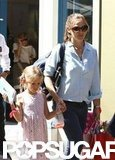 Jennifer Garner and Violet Affleck Shop Together at American Girl