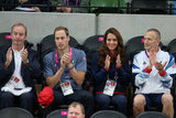Kate Middleton clapped for Paralympic cyclists.
