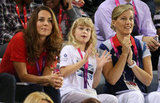 Kate Middleton sat next to Sophie, Countess of Wessex and Louise Windsor.