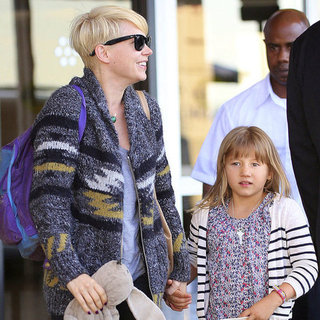 Michelle Williams and Matilda Return to NYC | Pictures