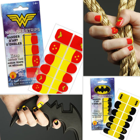 Superhero Nail Decals