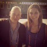 Look who Annie chatted with about arts funding . . . it's Evan Handler from Sex and the City!