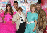 "The stars of Kath & Kim celebrated the release of their new ""filum"", Kath & Kimderella, on August 26."