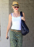 Gwen Stefani was spotted in Beverly Hills running errands.