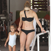 Jennifer Lopez Black Bikini Pictures