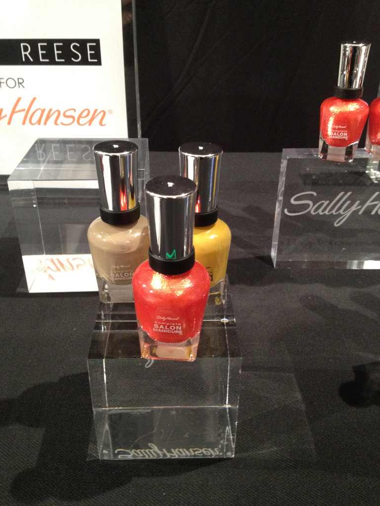 Once again, Tracy Reese is collaborating with Sally Hansen to create three polishes that can complement any skin tone. Soy Latte, Hot Lava, and Butterscotch ($8) will be available next year.