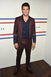 Joshua Bowman went backstage at the Tommy Hilfiger Men's show.