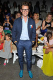 Brad Goreski played it cool and casual at Christian Siriano.