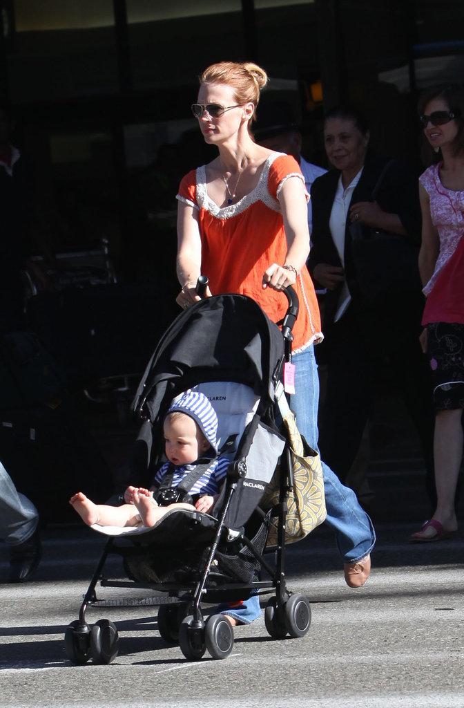 January Jones and Xander Jones crossed the street.