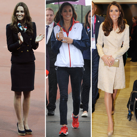 Kate Middleton's Paralympics Outfits