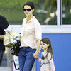 Katie Holmes and Suri Cruise Pictures in Chelsea Piers With Katie's Brother Martin
