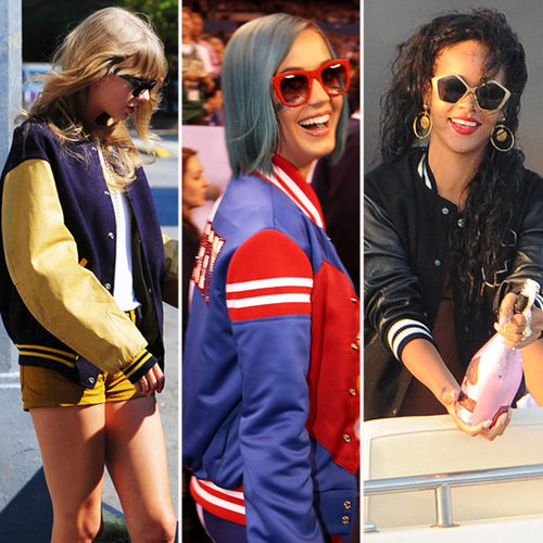 Varsity Jackets (Celebrity Pictures and Shopping)