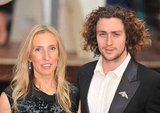 Aaron Taylor-Johnson and Sam Taylor-Johnson arrived at the premiere together.