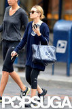 Ashley Olsen was dressed down in NYC.