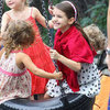 Katie Holmes With Suri at an NYC Park