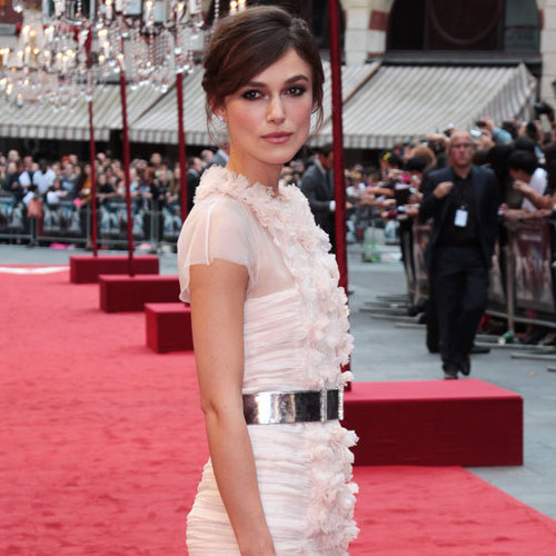 Keira Knightley in Chanel at the UK Premiere of Anna Karenina