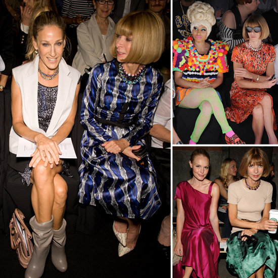 See What Celebrities Have Sat Next To Anna Wintour Front Row at Fashion Week: Gwyneth Paltrow, Nicki Minaj and Kate Bosworth