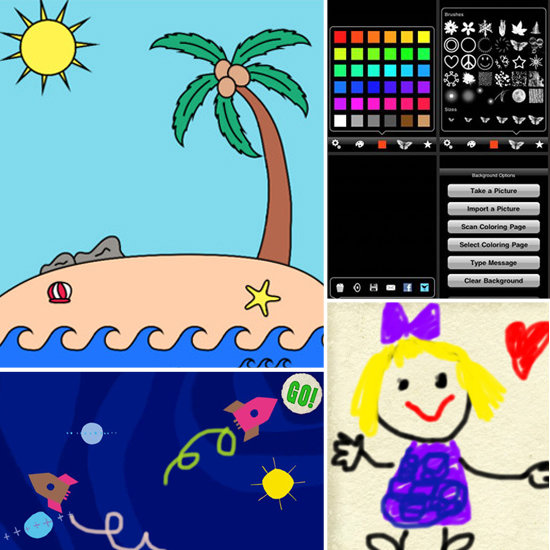 4 Free Coloring Apps to Keep Kids Entertained