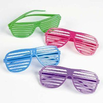 '80s Shutter Shade Sunglasses (12 for $29)