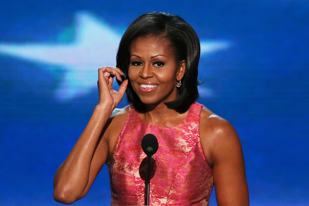 First Lady Michelle Obama Opens the DNC With Heart