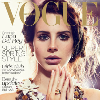 Lana Del Rey's Vogue Cover and Behind the Scenes Photos From Her Shoot