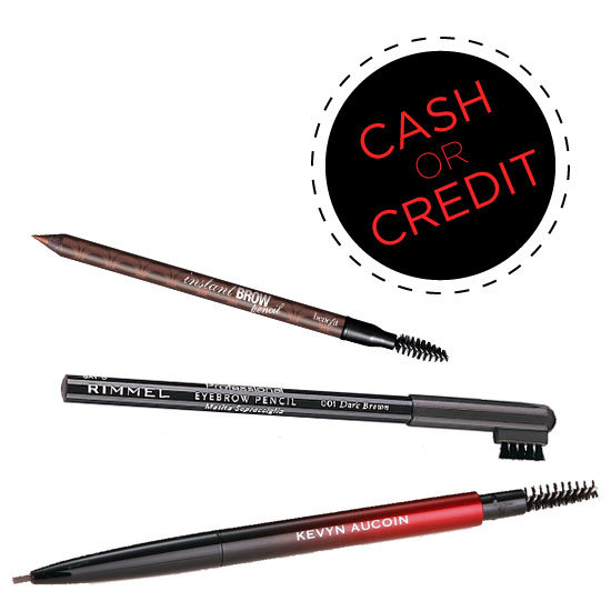 Cash or Credit: Eyebrow Pencils (With Spool Brushes!) on Every Budget