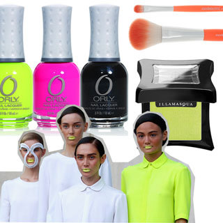 Shop the Neon Makeup and Nail Polish Trend With Products From OPI, ASOS, Topshop & More