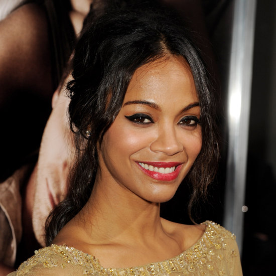 Zoe Saldana Nails Effortless Glamour at The Words Premiere