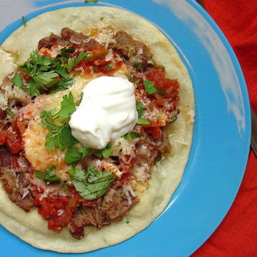 Red Bean Huevos Rancheros Recipe