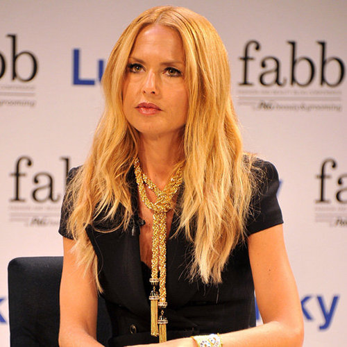 Rachel Zoe Wearing Gold Tassel Necklace
