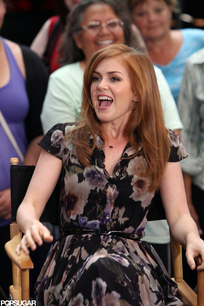 Isla Fisher spoke about Bachelorette.