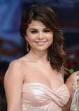 Selena Gomez flashed a bright smile.