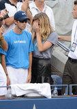 Brooklyn Decker Gets Emotional During Andy Roddick's Final Match