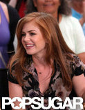 Isla Fisher visited Good Morning America to promote Bachelorette.