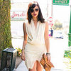 White Dress Street Style Picture
