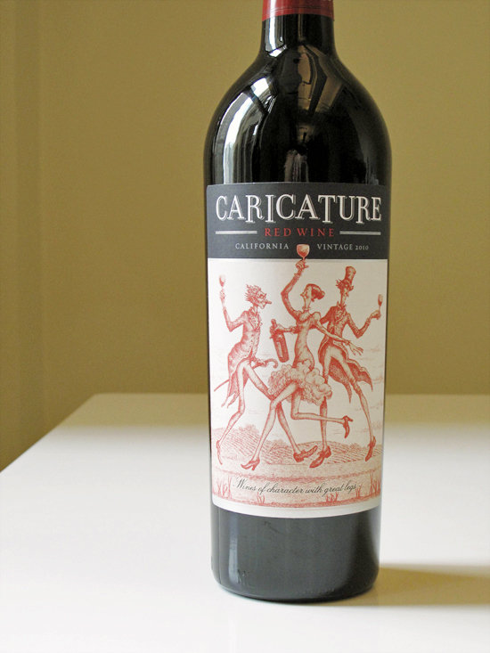 2010 Caricature Red Wine