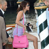 Selena Gomez Pink Purse
