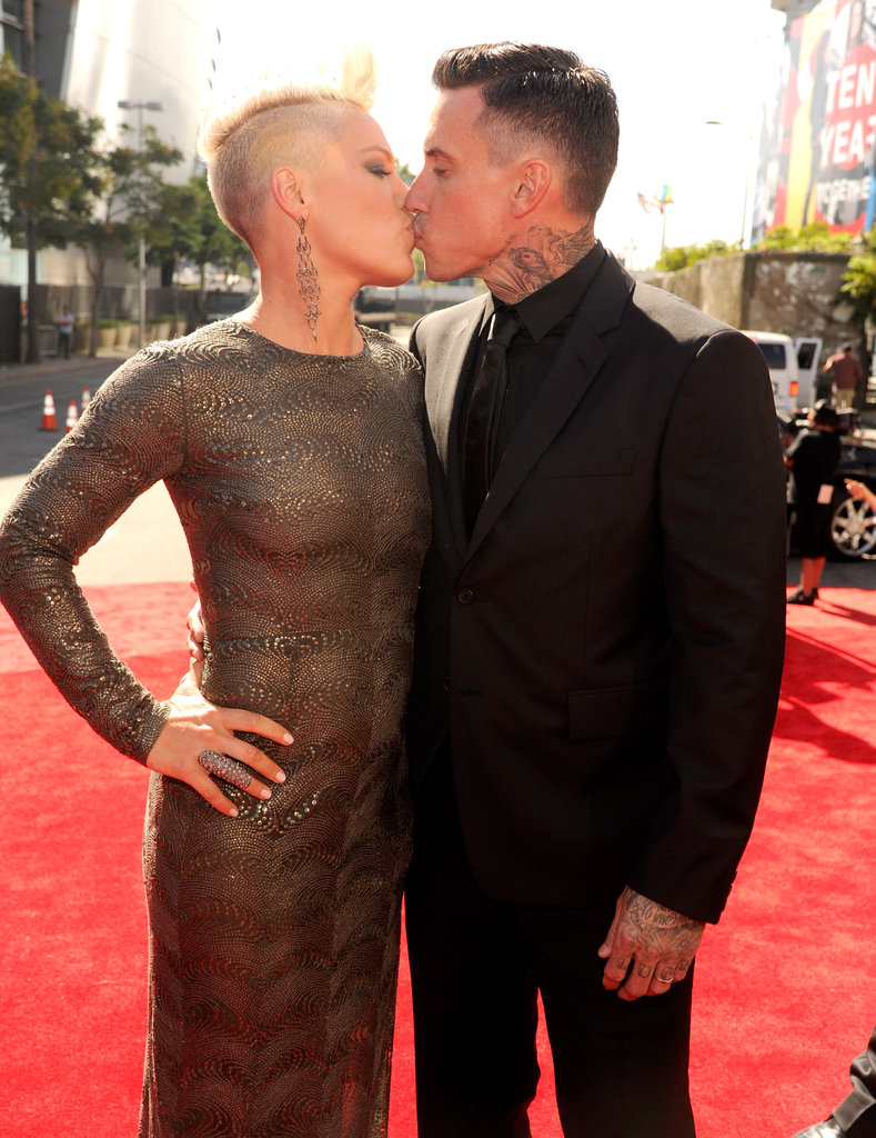 Pink and carey hart vma highlights check out all the pictures