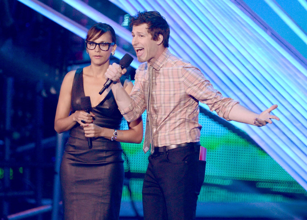 Rashida Jones and Andy Samberg