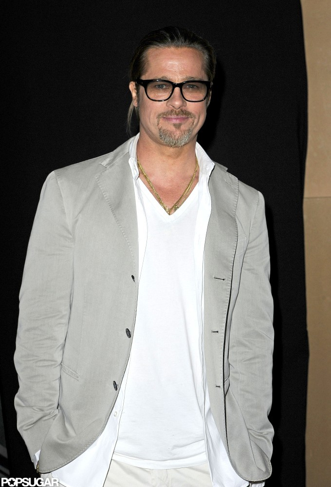 Brad Pitt Was At The Mayfair Hotel In London For A Screening Of Brad Pitt Breaks From Filming
