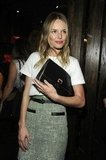 Kate Bosworth went to a NYFW party.