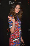 Katharine McPhee stepped out for the Style Awards in NYC.