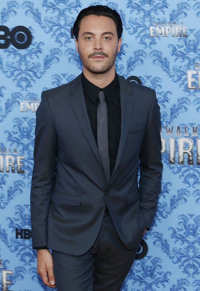 Jack Huston posed for a solo shot.