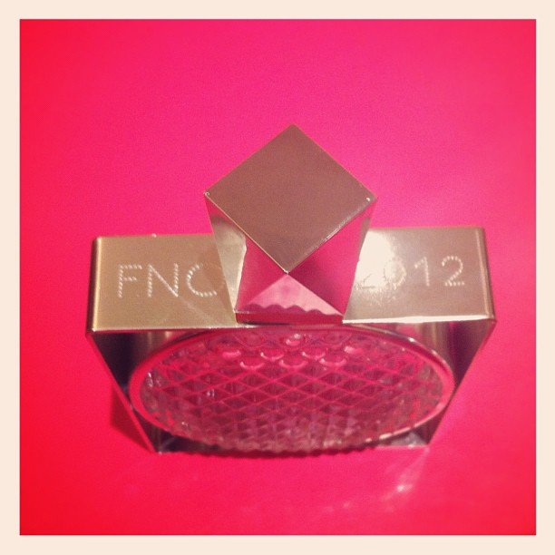 Stella McCartney stores personalised items commemorating FNO 2012.  Source: Instagram user stella_mccartney