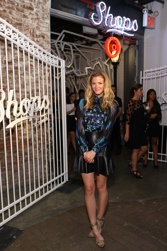 Brooklyn Decker celebrated the Shops at Target.